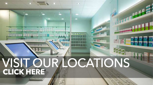 Visit Our MedCab Pharmacy Locations