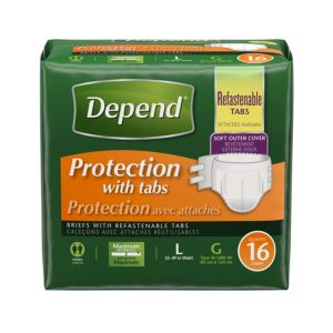 Depend Large 16 Count