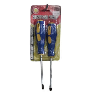 2PC-Screwdriver-With-Rubber-Handle
