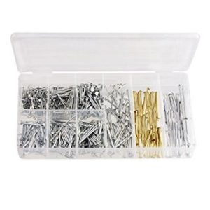 500 Piece Assorted Nails and Tacks