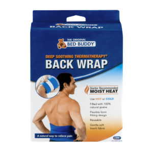 Bed Buddy Hot and Cold Back Wrap with Moist Heat Therapy
