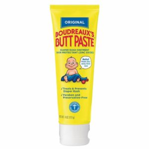 Boudreaux's Butt Paste Diaper Rash Ointment - 4 oz-Image