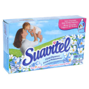 SUAVITEL DRYER SHEETS FIELD FLOWER 40CT